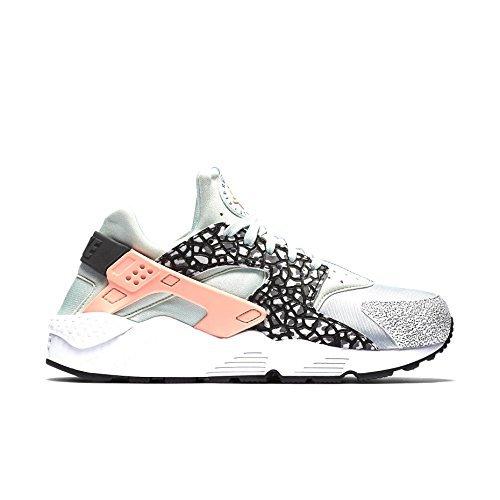 Price comparison product image nike womens air huarache run PRM trainers 683818 sneakers shoes (US 6.5,  pure platinum aluminium fibreglass 005)