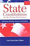 State Constitutions for the Twenty-First Century, Volume 2, Frank P. Grad and Robert F. Williams, 0791466485