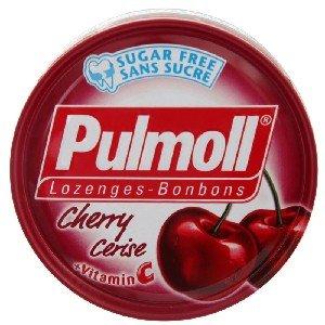(Pulmoll, Lozenges-Bonbons, Cherry Cerise, net weight 45 g (Pack of 2 pieces))