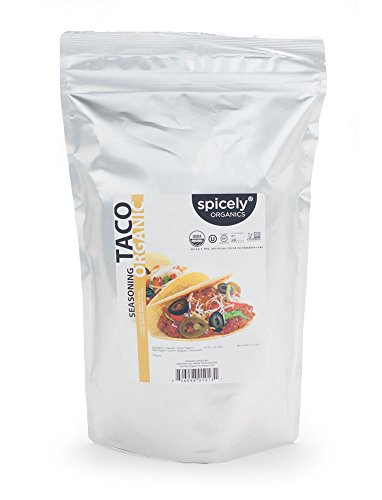 - Spicely Organic Taco Seasoning 1 Lb Bag Certified Gluten Free