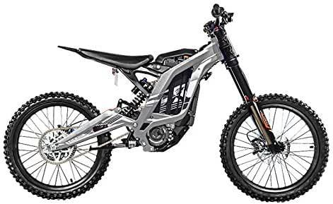 Sur-Ron Bicicleta eléctrica crossbike Light Bee X-Version (Plateado): Amazon.es: Coche y moto
