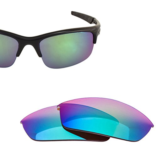 LenzFlip Oakley Bottle Rocket Lens Replacement, Brown Polarized with Green ()