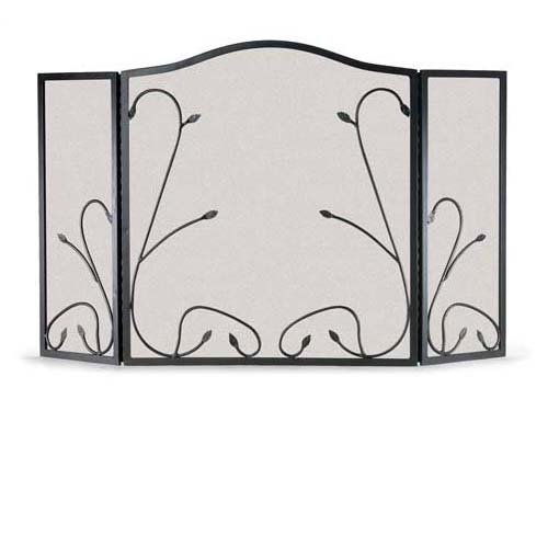 Napa Forge Leaf and Vine Folding Screen by Napa Forge - Napa Forge Leaf