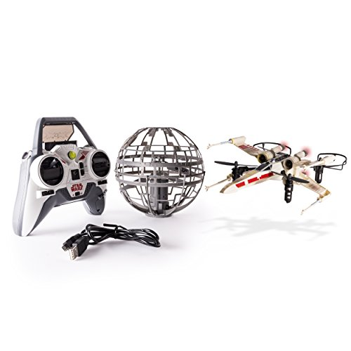 Join the Rebel Alliance and take control of the X-wing Drone as you take on the Empire! The Star Wars X-wing vs. Death Star, Rebel Assault from Air Hogs makes you the pilot of the RC X-wing Drone and as you battle against an auto-hovering Dea...