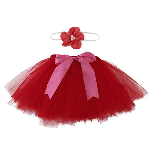 Clearance! Newborn Baby Girls Photo Photography Prop Tutu Skirt Headband Outfit Clothes Set (Clearance Halloween Costumes For Infants)
