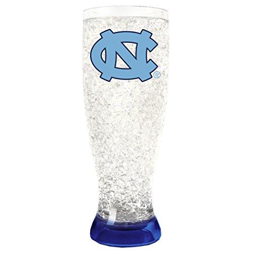Ncaa Crystal Mug - Duck House NCAA North Carolina Tar Heels 16oz Crystal Freezer Pilsner