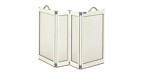 Patterson Medical Carerscreen - Mampara de ducha portátil para cuidador con juntas inferiores: Amazon.es: Salud y cuidado personal