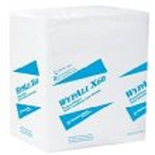 Kimberly Clark 34865 WYPALL X60 Wipers, 1/4-Fold, 12 1/2 x 13, White, 76/Box, 12 Boxes/Carton 60 Reinforced Wipers