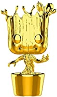 Funko Figure Pop Marvel Studios 10 Groot, Gold Chrome
