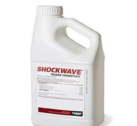 Shockwave Fogging Conc 1gl Ulv Insect Fog Pyrethrins 1% + Esfenvalerate + Igr Not For Sale To: California or New York by Shockwave