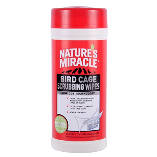 Bird Shampoo (Nature's Miracle 30 Count Bird Cage Scrubbing Wipes)