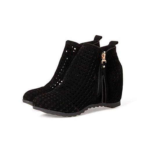 Abl09894 Sandales Femme Noir Noir Compensées Balamasa adw5qp7a