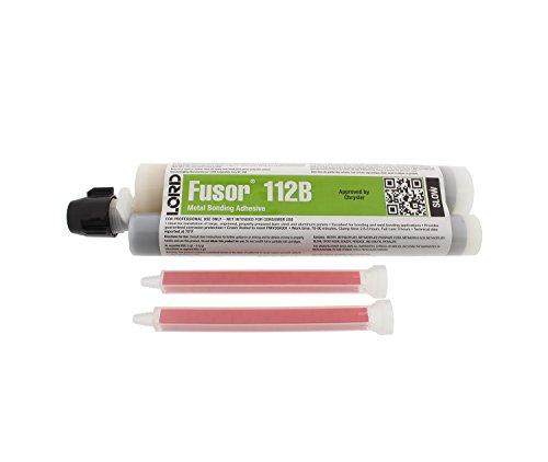 Quarter Skin Panel Rear (Lord Fusor METAL ADHESIVE SLOW 7.6 OZ (FUS-112B))