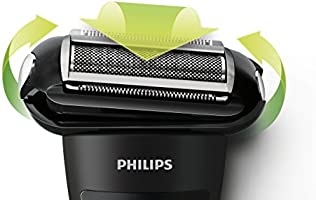 Philips BodyGroom TT2039/32 - Afeitadora corporal inalámbrica, con cabezal de recorte y de afeitado, 50 min de uso/8 h de carga, negro y naranja: Philips: Amazon.es: Salud y cuidado personal