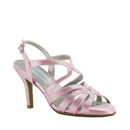 (Dyeables, Inc Women's Paisley Dress Sandal, White, 8.5 W US )