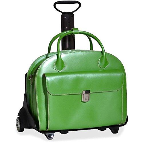 Designer Rolling Laptop Bag - 6