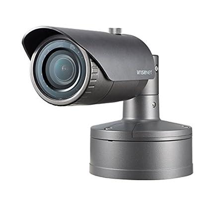 Samsung XNO-8020R 5MP red IR Bullet cámara de vigilancia CCTV externo IP67 3.7mm