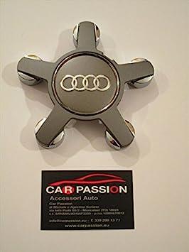 1 tapacubos Audi A3 A4 A5 A6 Q3 Q5 Q7, en forma de estrella, de aleación.: Amazon.es: Coche y moto