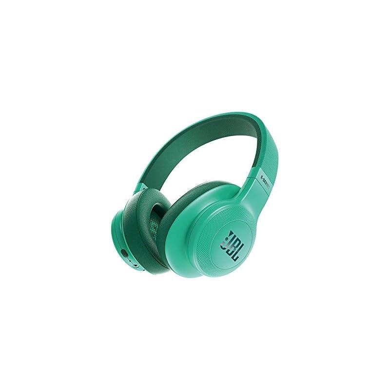 JBL E55BT Over-Ear Wireless Headphones Teal