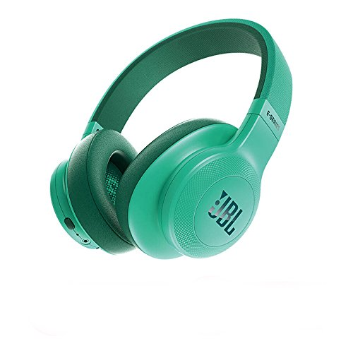 JBL E55BT Over-Ear Wireless Headphones Teal