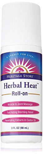 - Heritage Store Herbal Heat Roll-On, 3 Ounce