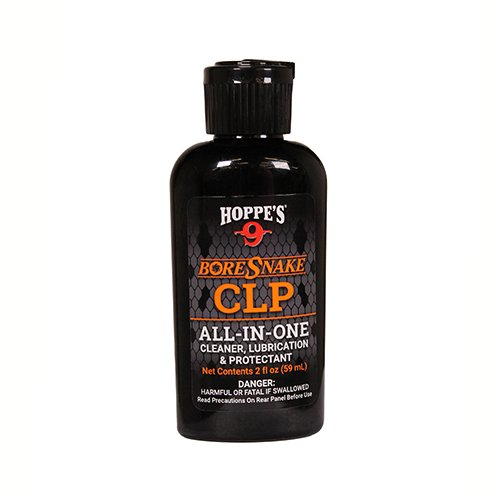 Hoppe's HSO Boresnake Clp All-In-One Oil, 2 oz Squeeze Bottle