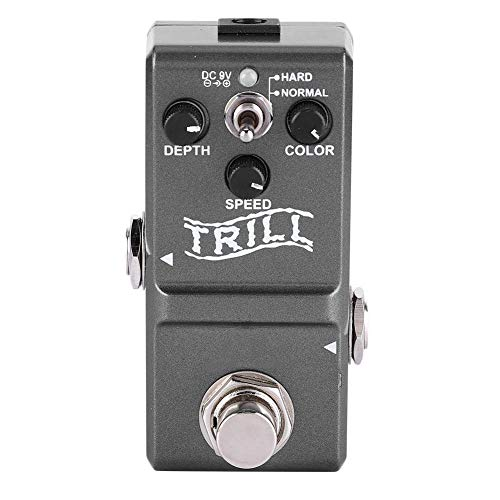 - Bnineteenteam Guitar Tremolo Pedal,Guitar Tuner Electric Guitar Effect Monoblock Trelicopter for Electric Guitar