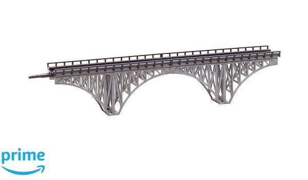 Amazon.com: Faller 282915 Deck Arch Bridge XL Z Scale ...