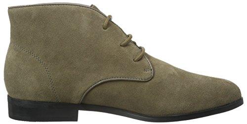 Buffalo London 415-1271 Cow Suede, Zapatos De Cordones Derby para Mujer Grau (Taupe 01)
