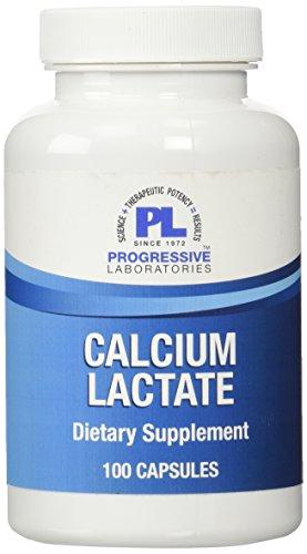Progressive Labs Calcium Lactate Supplement, 100 Count