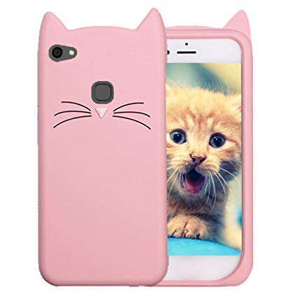 new product 201b1 a7290 Generic Arrowmattix Cute Cat Meow Soft Silicone Back: Amazon.in ...