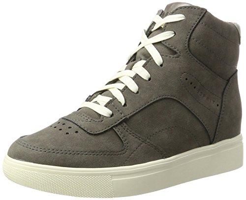 Esprit Femme Grey Hautes Sneakers Wedge Gris Lizette rq4IYr