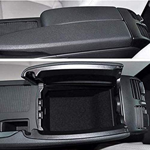 Semoic Car Center Console Armrest Box Glove Box Secondary Storage Tray for Mercedes C Class W204 2008-2013 C180 C200 C260 C300 CDI 2008-2013