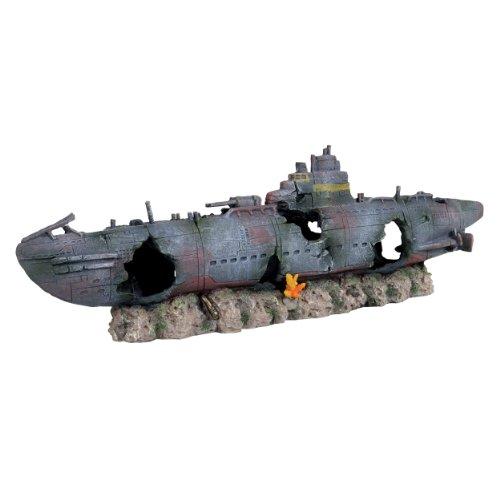 Underwater Treasures Atlantic Sunken Submarine