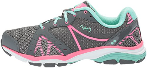 Menthe Rzx Cross Gris Femmes Pour Rose Fer Vida Yucca Hyper trainer Chaussures Ryka w4xfqI7c