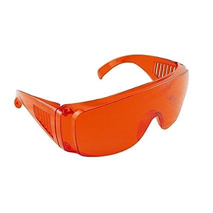 Carejoy Rouge Goggle Lunettes dentaire Sécurité Lab protection des yeux  Polymériser blanchissant fd3bddd0e19c