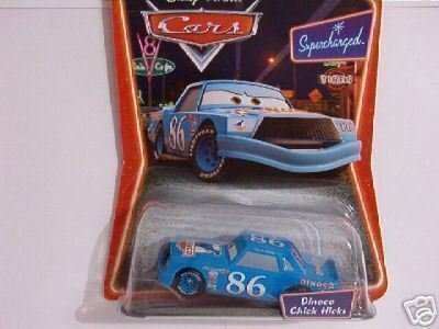 (Blue Dinoco Chick Hicks 1:55 Scale Car Supercharged Edition by Mattel)