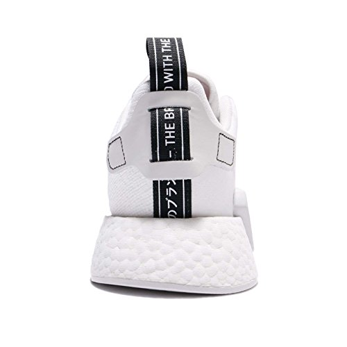 Adidas Man Nmd_r2, Vit / Svart, 9 M Oss