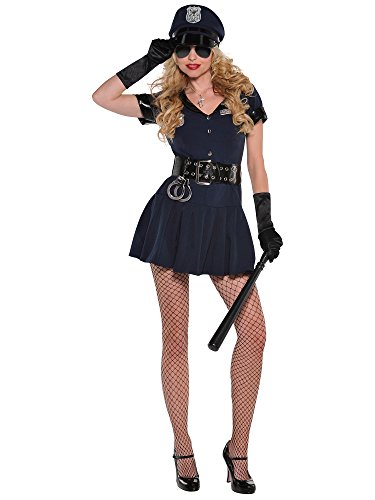 Womens Officer Rita Dem Rites Costume Size Large (10-12) - Lady Officer Costumes