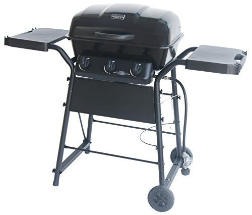 Gas Grill 3 Burner Space Saver by Expert