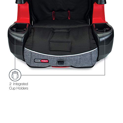 Britax Frontier ClickTight Harness-2-Booster Car Seat - 2 Layer Impact Protection - 25 to 120 Pounds, Vibe
