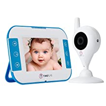Baby Monitor Video, Long Range Two Way Night Vision Video Baby Monitor with Camera and Audio (3.5 inch)