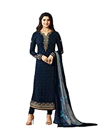 Delisa Indian Wear Straight Salwar Kameez Party Wear Timeless