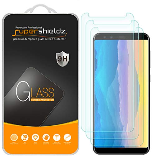 [3-Pack] Supershieldz for BLU Pure View Tempered Glass Screen Protector, Anti-Scratch, Bubble Free, Lifetime Replacement Warranty