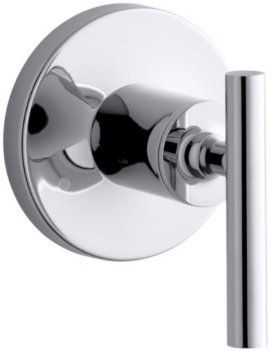 KOHLER K-T14491-4-CP Purist Transfer Valve Trim, Polished Ch