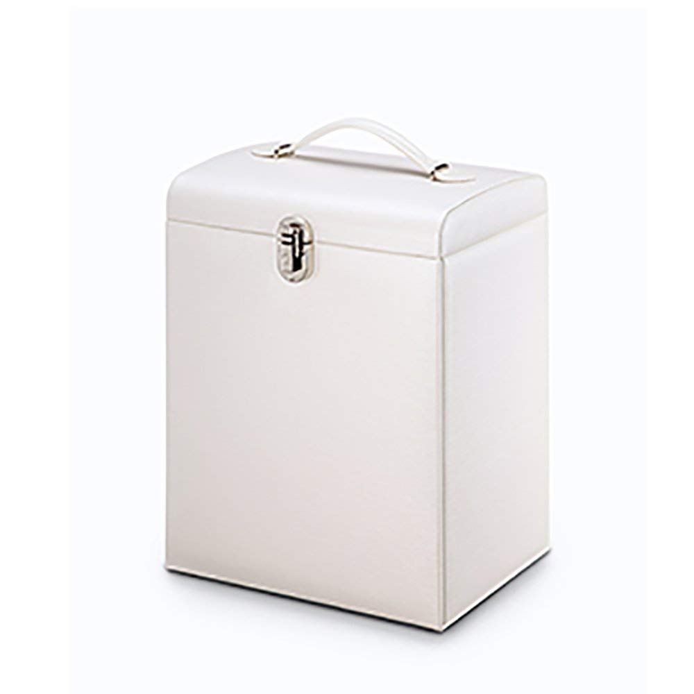 LiuJianQin SSHジュエリーボックス/収納ボックス多層/ドレッサー仕上げ収納ボックス/ジュエリー仕上げ箱/ 3色オプション(色:A、サイズ:25.6 * 18.5 * 34 CM) B07SW29BZ6 A 25.6*18.5*34CM