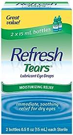 Refresh Tears Lubricant Eye Drops For Dry Eyes, 0.5 Fl Oz