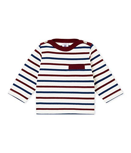 Petit Bateau Baby Boys' Long Sleeve Striped Top (12 Month) ()
