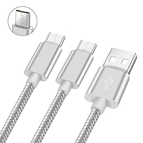 Charger Cord For Samsung Galaxy S6/Edge/Plus/Active,Note 5/4/3,Tab E/A,J5/Prime/PRO/2016,A3 2016/A5 2016/A7 2016,A6,Huawei Mate 10 lite/P9 lite/P10 lite,ascend xt2,Micro Usb Fast Charging Cable 3 6 FT ()