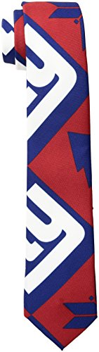 NFL New York Giants Men's Patches Ugly Printed Tie, One Size, Blue